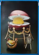 Faberge Egg Kelch Hen Egg Poster Print Photograph By Larry Stein