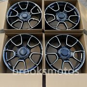 21 Staggered New Black Style Forged Wheels Rims Fit Porsche 991 911 Carrera S
