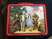 Vintage 1998 The Wizard Of Oz Collectable Tin Lunch Box 6x8 Good