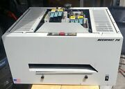 Two Accufast P6 Inkjet Address Printers 1 Working, 1 Non-working/for Parts