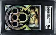 2018 Topps Museum Ufc Sean Oand039malley Primary Pieces /10 Graded 9 Sgc Gold Rookie