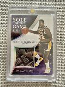 2014-15 Immaculate Sole Of The Game Magic Johnson /10 Non Auto Lakers Ebay 1/1