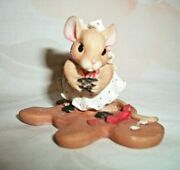 Enesco Mouse Tales The Holidays Are Sweet And Delicious With You Figurine