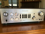 Luxman L-100 Integrated Amplifier Vintage Audio Fully Restored