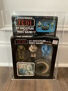Star Wars Sy Snootles Rebo Band Kenner La Guerre Des Etoiles Afa 75 Clear Bubble