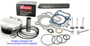 Yamaha Wr450f Top End Rebuild Kit3 Wossner Piston Cam Chain Valves 16 - 18