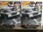 Hot Wheels Fast And Furious 1968 Dodge Charger / Fast Stars - F9 Free Shipping