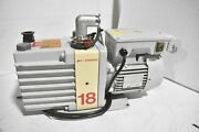 Edwards E1m18 Code A343-24-904 Single Stage Oil Sealed Rotary Vane Vacuum Pump