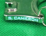 Sss Cut-out Frame Mirror Finish Scotty Cameron Mill Pattern Dog Ball Marker With