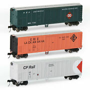 1 Unit Model Trains Wagons N Scale 1160 50' Steel Reefer 50ft Boxcar C15015