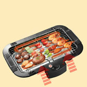 Electric Bbq Grill Barbecue Plate Machine Portable Outdoor Home Picnic Camping