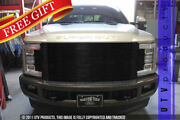 Gtg 2017 - 2019 Ford F250 F350 Super Duty 1pc Black Replacement Billet Grille