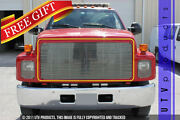Gtg 1990 - 1996 Gmc Kodiak 1pc Polished Upper Replacement Billet Grille Grill
