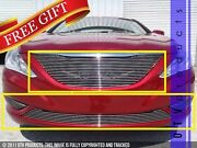 Gtg Polished 4pc Replacement Billet Grille Kit Fits 2011 - 2014 Hyundai Sonata