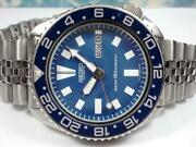 Seiko Diver 6309-7290 Analog Automatic Blue Dial Men's Watch From Japan Freeship