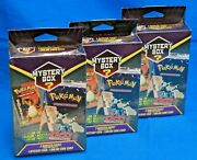 Lot Of 3 - Brand New - Pokemon Mystery Boxes - Factory Sealed