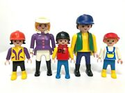 Playmobil Vintage Riding Stables Farm 3775 Pony Ranch All 5 Figures