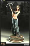 Sideshow Buffy The Vampire Faith Premium Format Shipper Sealed 003 Serial Low