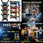 Infrared Laser Tag Blasters Gun Toys With Vest Infrared Battle Pack Set Of 4 Toy