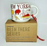 Starbucks New York Been There Series Ornament - 2oz- New In Box