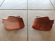1973 Mustang Oem Quarter Panel To Rear Bumper Fillers With Nuts Pair Free Ship