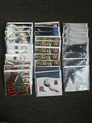 Lot Of 28 3d Pop-up Cards 9 Winter And Christmas Designs Up With Paper New