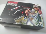 Wii Rapala Pro Bass Fishing Game And Rod. New In Open Box