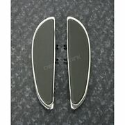 Cyclesmiths Chrome Floorboards W/o Rivets - 104-nr-st