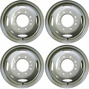 Set Of 4🔥 16 Dually Steel Wheels Rim For 99-04 Ford F350sd Drw Super-duty 3336