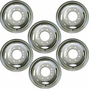 Set Of 6🔥 16 Dually Steel Wheels Rim For 99-04 Ford F350sd Drw Super-duty 3336