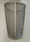 1937 Ford Car Plain Steel Grill - Without Crankhole