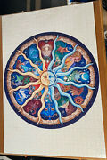 Astrology / Horoscope -- Japanese 1000 Piece Jigsaw Puzzle -- 100 Complete