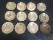 Gorham Sterling Black, Starr And Frost 43136 12 Bread And Butter Plates 6 1/4