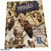 Bepuzzled Mystery Puzzle Impossibles Hooandrsquos On 1st Andldquomost Difficult Puzzle Andldquo750 Pc