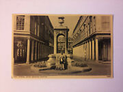 Bath Mineral Water Drinking Fountain 1956 Stamp Carte Postale Postcard