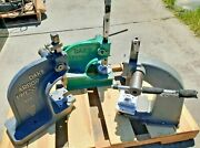 Nice Lot Of 3 Each Arbor Pressand039s 2x Dake Brand And 1x Unknown Brand