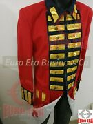 Revolutionary War British Army Regimental Red Frock Coat Repro In All Sizes