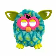 Hasbro Furby Boom Peacock Teal Blue Green Electronic Interactive Toy 2012 Tested