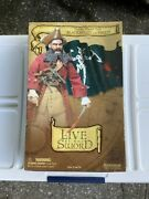 """Sideshow Collection Live By The Sword Blackbeard The Pirate 12"""" Action Figure"""