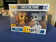 Funko Pop Lady And The Tramp 2 Pack Disney Lady And The Tramp Good Condition