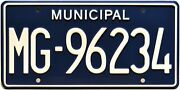 The Walking Dead   Mg-96234   Metal Stamped License Plate