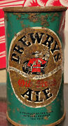 1949 Irtp Drewrys Old Stock Ale Flat Top Beer Can South Bend Indiana Mountie
