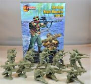 Mars Wwii German Night Hunters Infantry Toy Soldiers