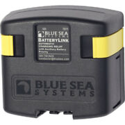 Blue Sea 7611 Dc Batterylink Automatic Charging Relay - 120 Amp W/auxiliary B...