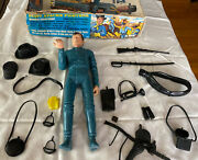 Vintage Marx Capt. Maddox W/ Box And Accessories Captain Fort Apache Fighters