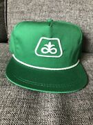 Pioneer Seed Co Green Corn Farmers K Products Usa Trucker Hat Rope Snapback Nos