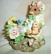 Enesco Mouse Tales Mary Mary Quite Contrary Figurine
