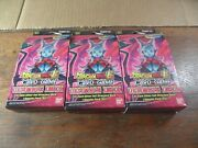 B9-150 Lot Of 3 Dragon Ball Super Be16 Ultimate Deck Factory Sealed Box 3x
