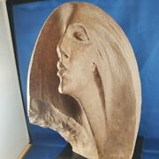 Stargazer Female Bust Sculpture By David Fisher From Austin Productions 1980