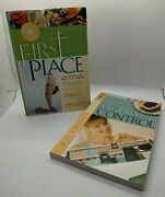 Life Under Control And First Place Lot Of 2 Books Bible Study Weight Loss